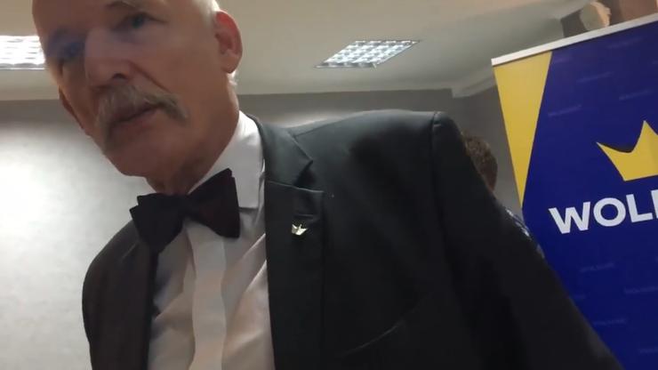 Korwin-Mikke potwierdził, że rezygnuje z mandatu europosła. Będzie kandydował na prezydenta Warszawy