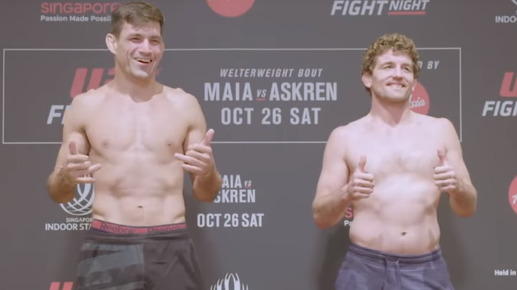 UFC: Maia - Askren. Transmisja w Polsacie Sport Fight