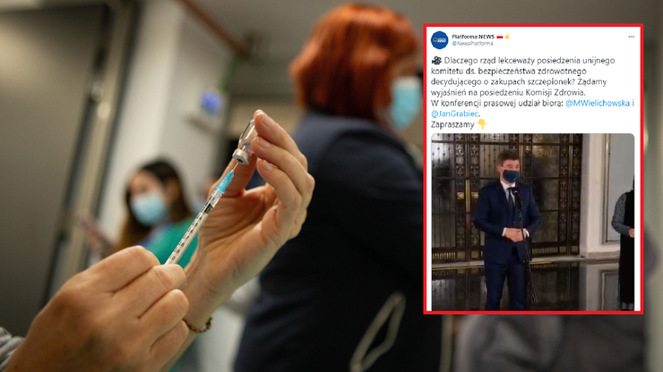 """""""Brak szczepionek i za krótkie igły"""". Posłowie pytają o nieobecność rządu na unijnych posiedzeniach"""