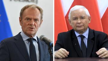 Sondaż CBOS. Polacy nie ufają Tuskowi i Kaczyńskiemu