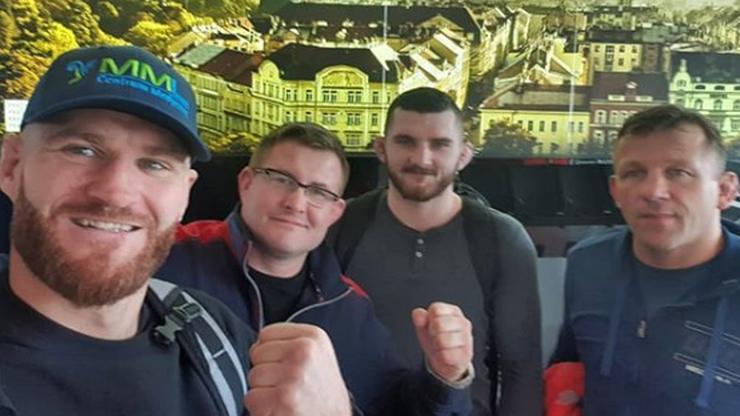UFC: Błachowicz i Oleksiejczuk są już w Pradze