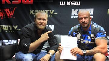 Oświeciński w KSW
