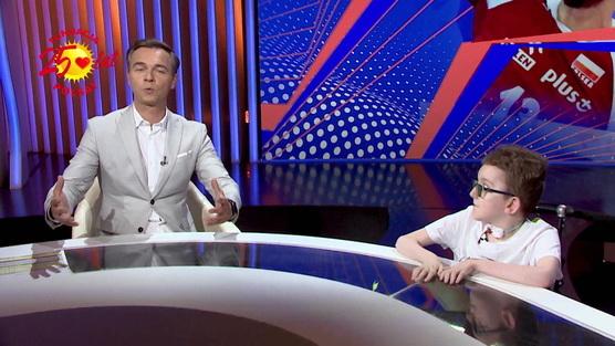 #JesteśmyDlaDzieci - Spełniamy marzenia - Kacper komentuje mecz z Jerzym Mielewskim