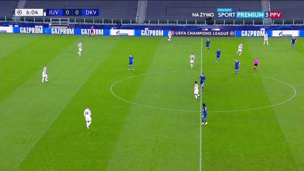 Juventus Turyn - Dynamo Kijów