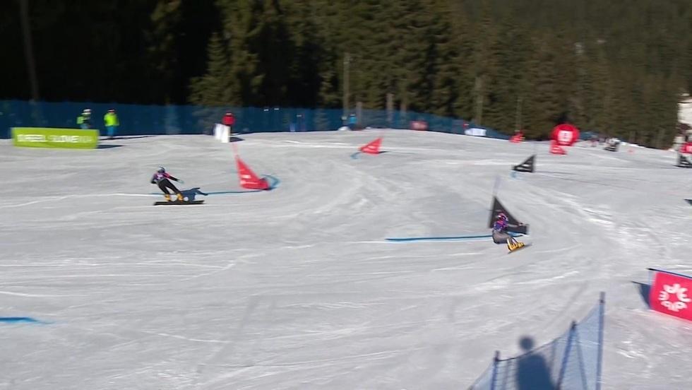 Slalom równoległy MŚ Rogla