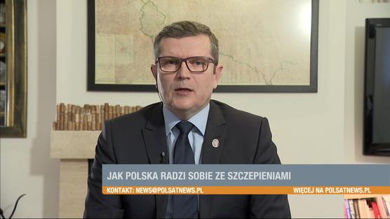 Śniadanie w Polsat News - 10.01.2021