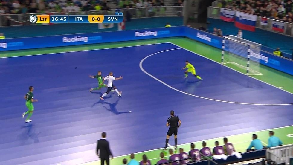 Włochy - Słowenia, skrót meczu