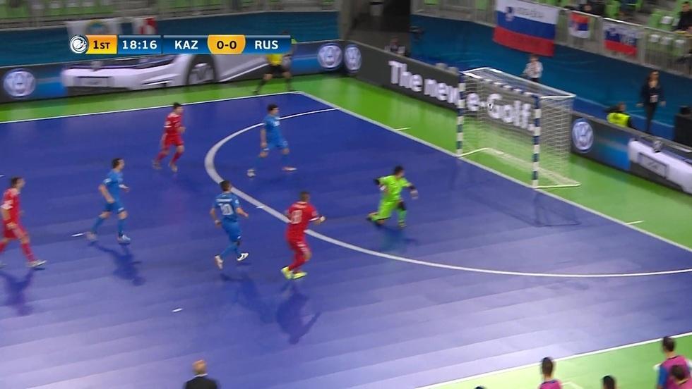 Kazachstan - Rosja, skrót meczu