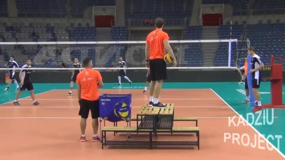 Kadziu Project - Trening Polaków przed meczem Ligi Światowej z USA