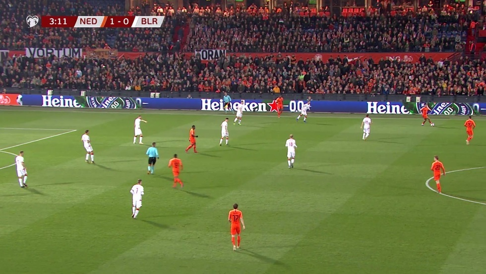 Holandia - Białoruś